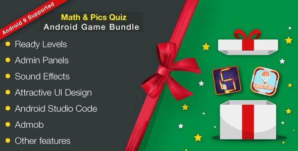 Brainy Math & Flags Quiz Android Games Bundle - 5