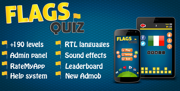 Brainy Math & Flags Quiz Android Games Bundle - 4